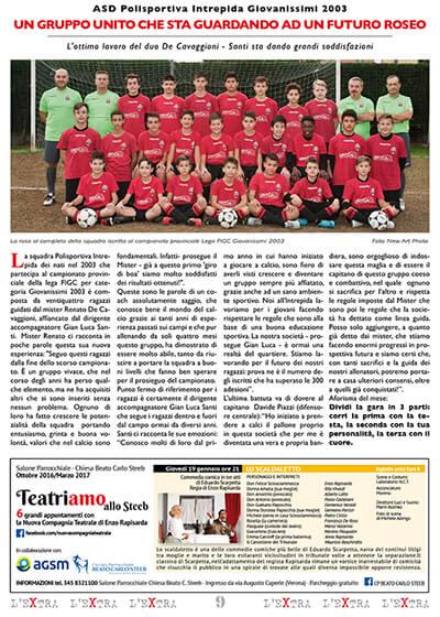 L'Extra - Il giornale di San Michele 2017-01