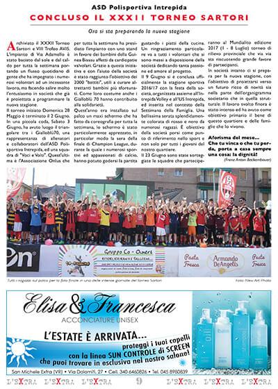 L'Extra - Il giornale di San Michele 2017-07