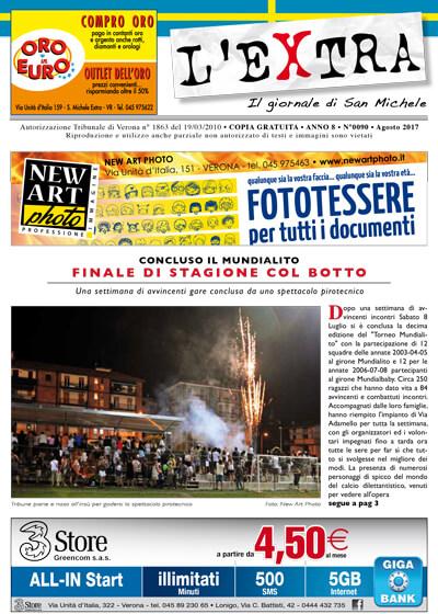 L'Extra - Il giornale di San Michele 2017-08
