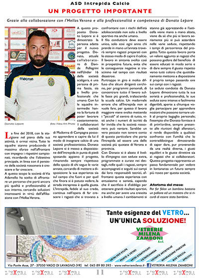 L'Extra - Il giornale di San Michele 2018-12