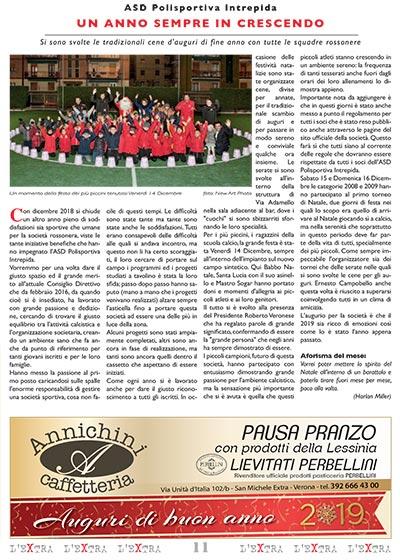 L'Extra - Il giornale di San Michele 2019-01