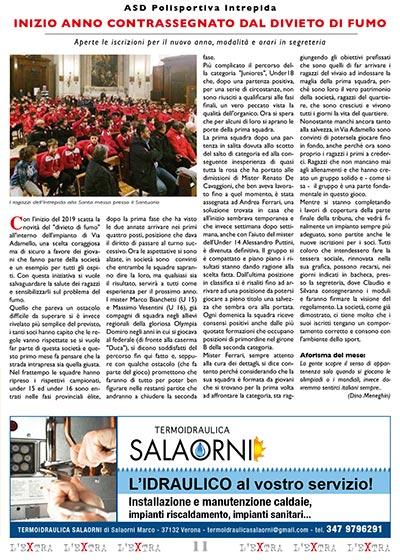 L'Extra - Il giornale di San Michele 2019-02