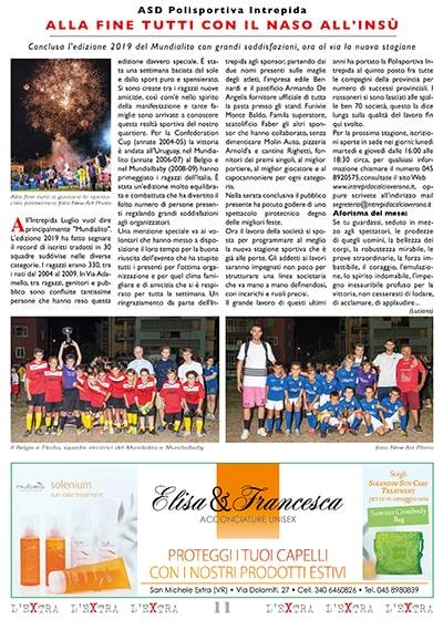 L'Extra - Il giornale di San Michele 2019-08