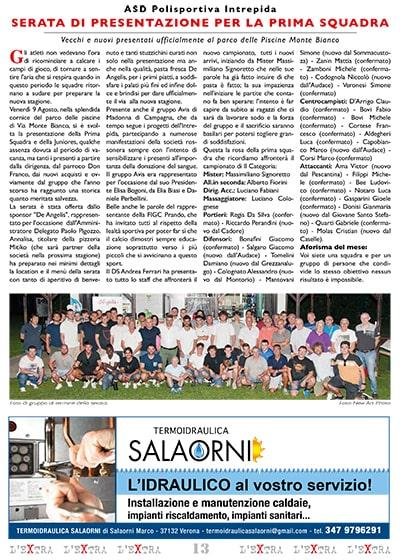 L'Extra - Il giornale di San Michele 2019-09