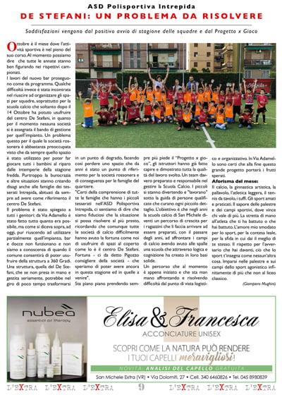 L'Extra - Il giornale di San Michele 2019-11