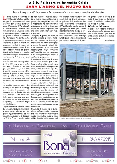 L'Extra - Il giornale di San Michele 2020-02