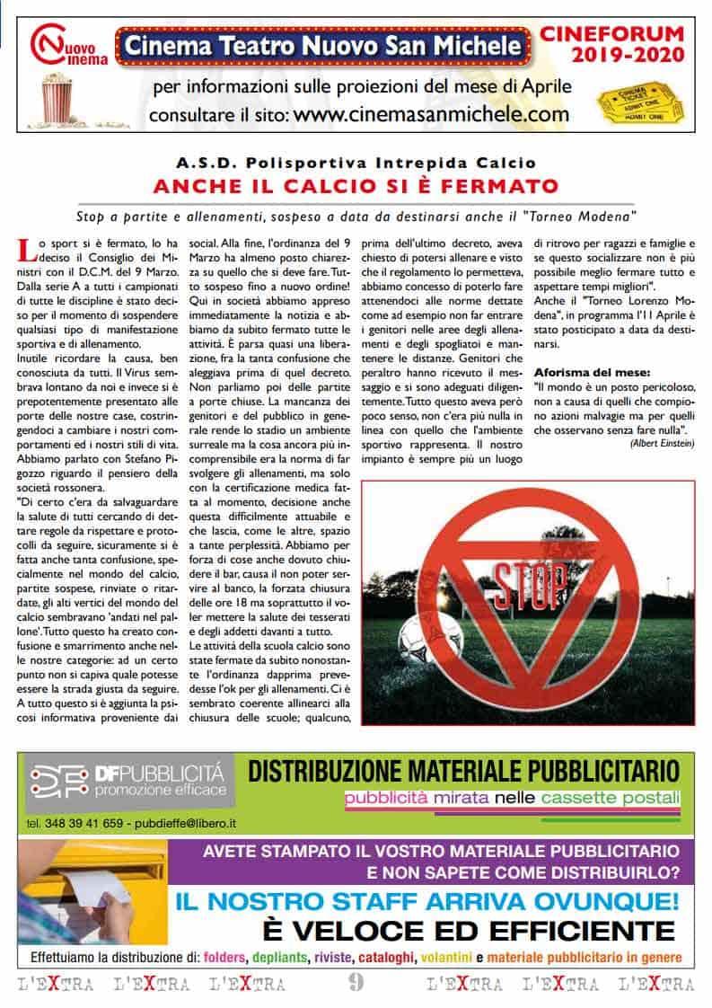 L'Extra - Il giornale di San Michele 2020-04