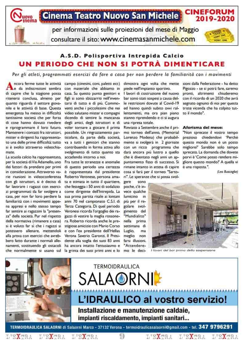 L'Extra - Il giornale di San Michele 2020-05