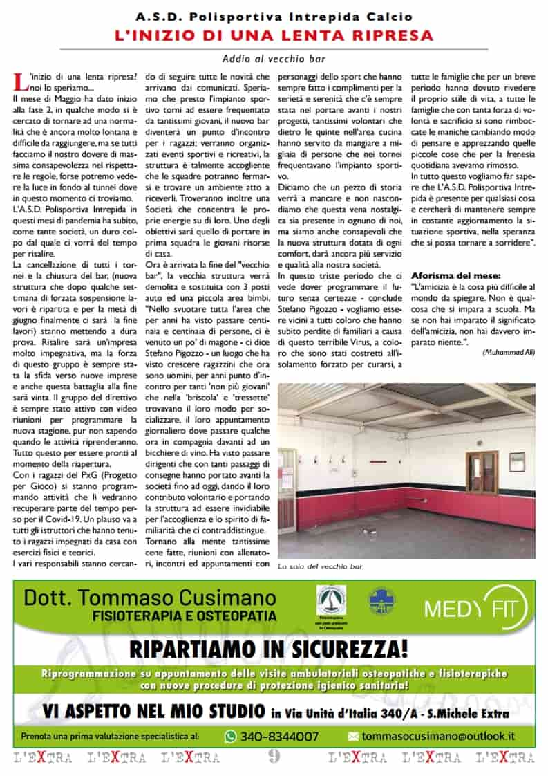 L'Extra - Il giornale di San Michele 2020-06
