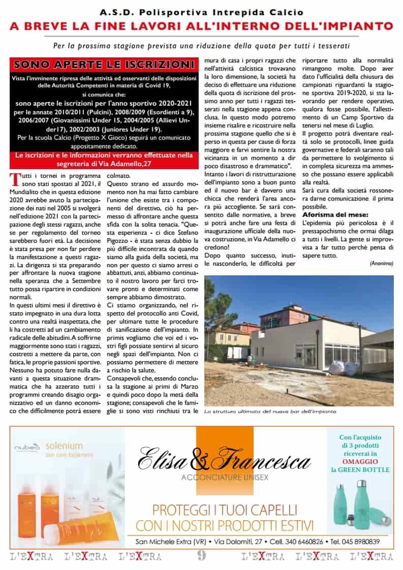 L'Extra - Il giornale di San Michele 2020-07