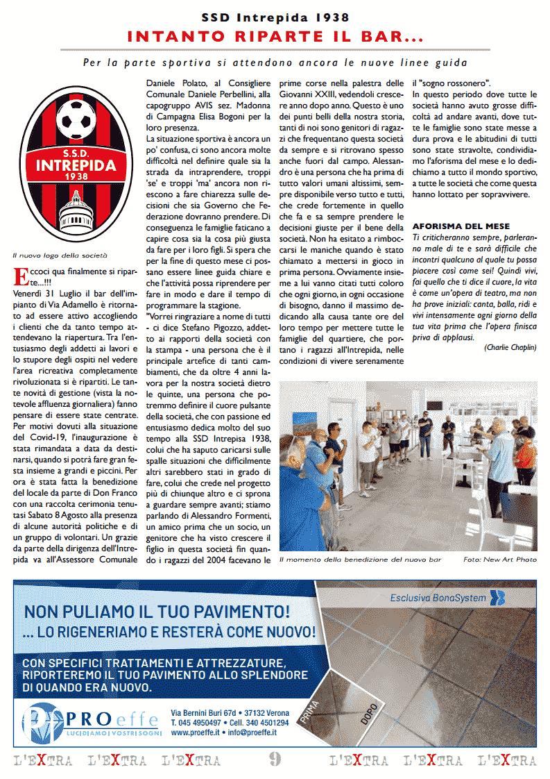 L'Extra - Il giornale di San Michele 2020-09