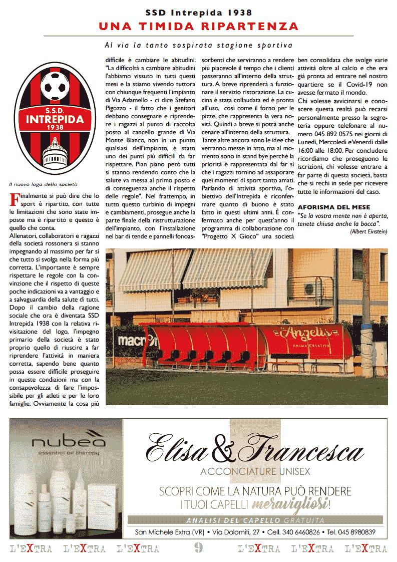L'Extra - Il giornale di San Michele 2020-10