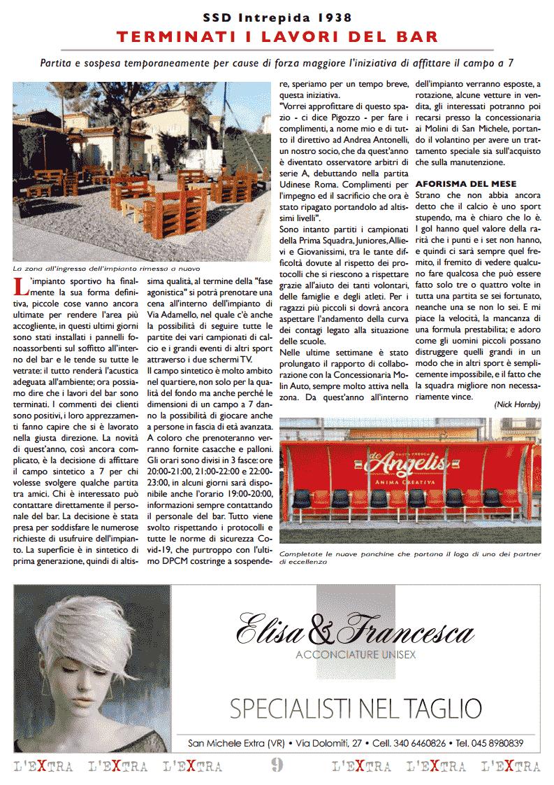 L'Extra - Il giornale di San Michele 2020-11