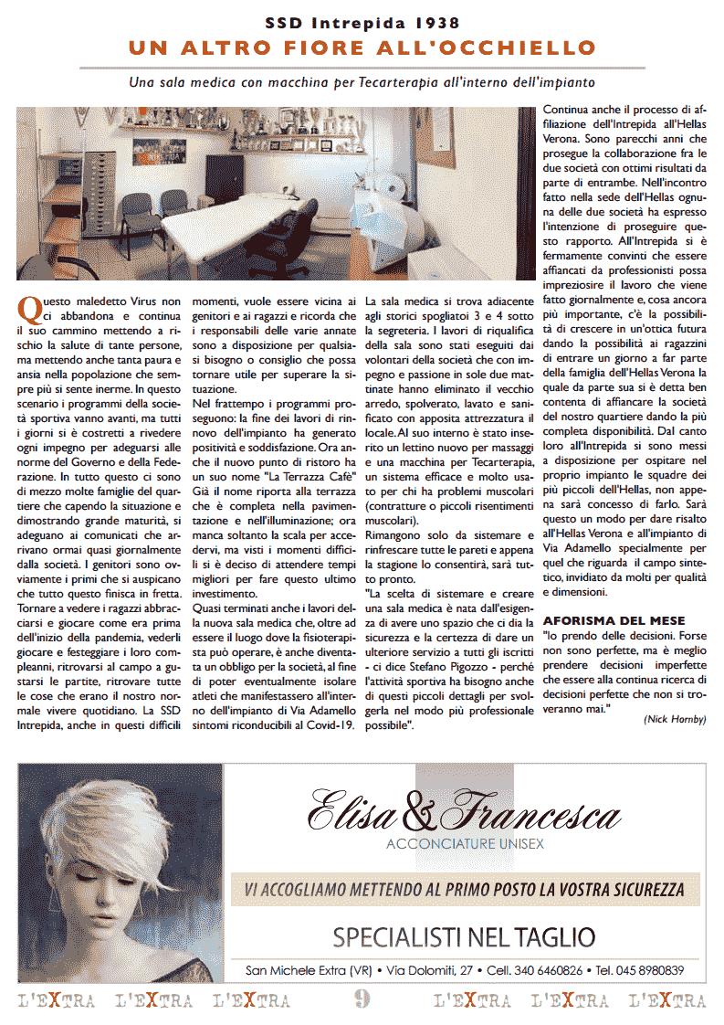L'Extra - Il giornale di San Michele 2020-12