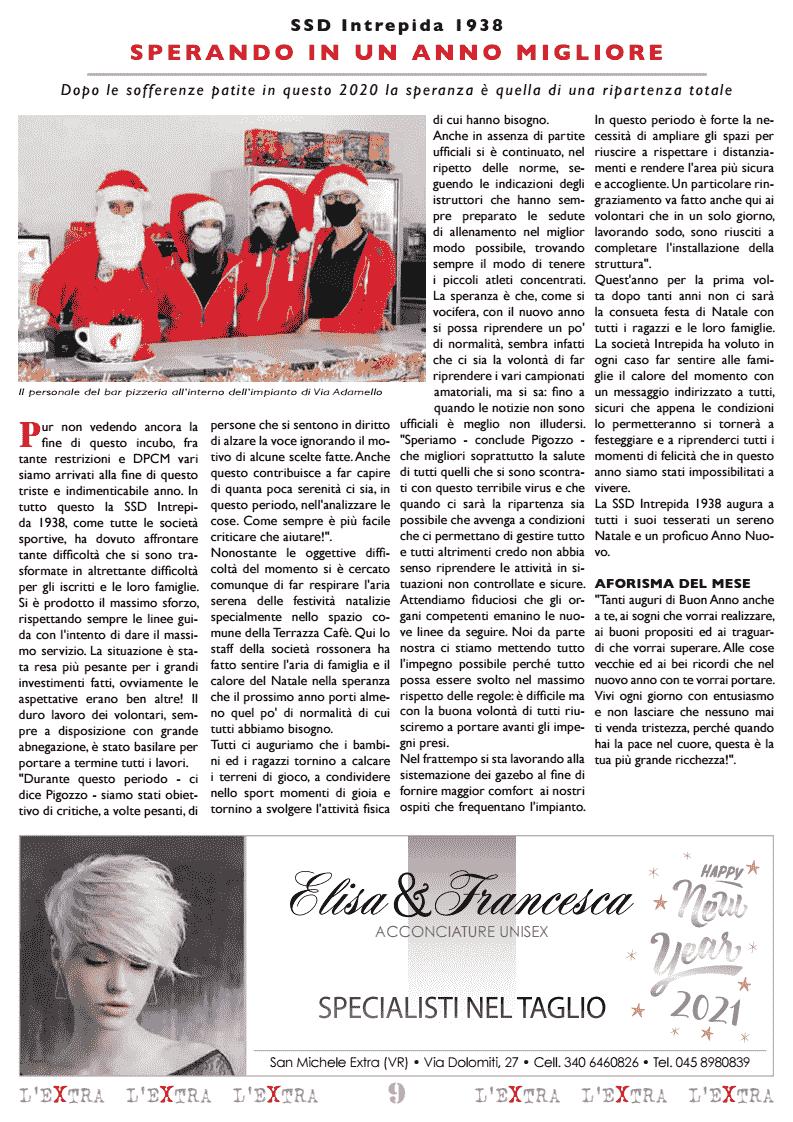L'Extra - Il giornale di San Michele 2021-01