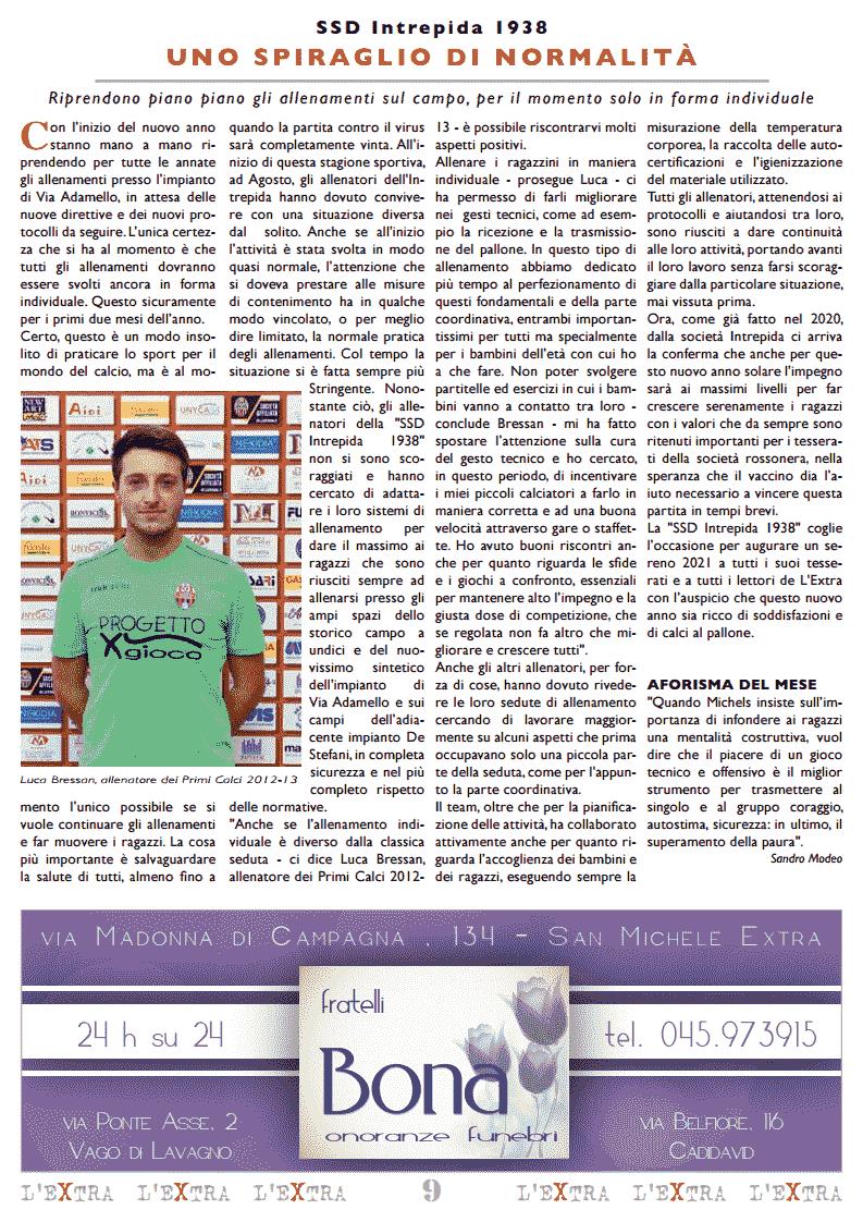 L'Extra - Il giornale di San Michele 2021-02