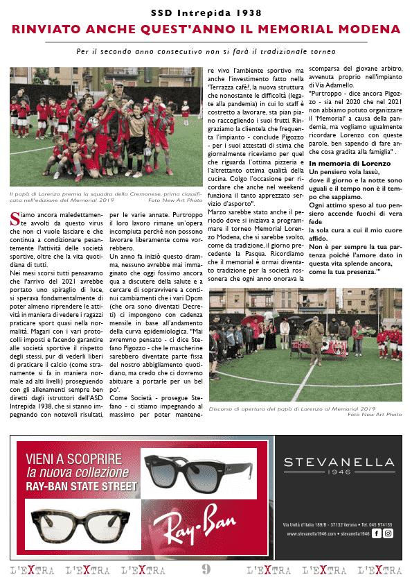 L'Extra - Il giornale di San Michele 2021-04
