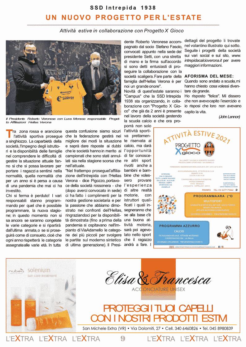 L'Extra - Il giornale di San Michele 2021-05